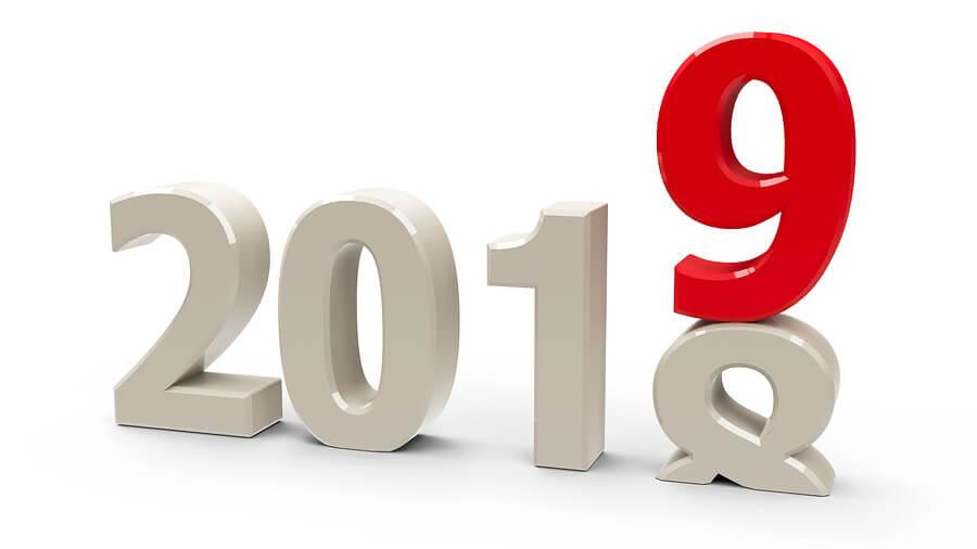 2019 work calendar