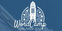 WordCamp Ann Arbor 2017